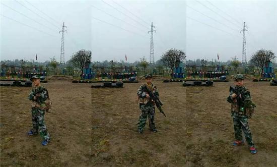 渠县小学生军事拓展