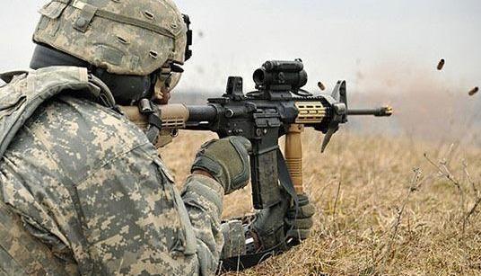 美军升级M4A1步枪