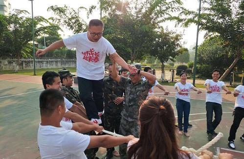 儋州新员工拓展训练