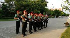 儋州学生素质拓展训练