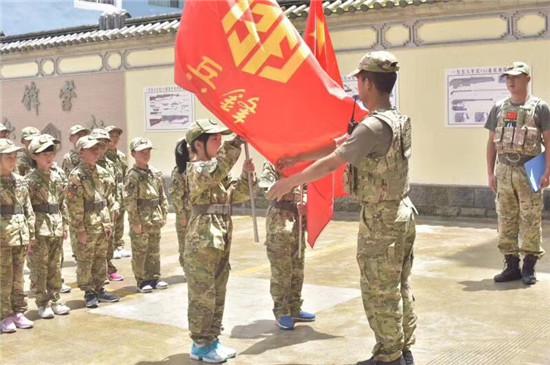 腾冲军事夏令营