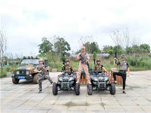 广安军事拓展训练