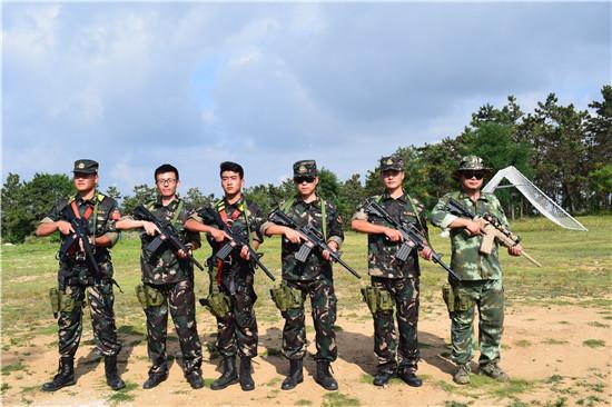 东海企业团队拓展训练