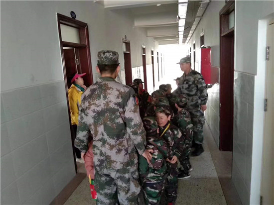 连云港军事训练营2