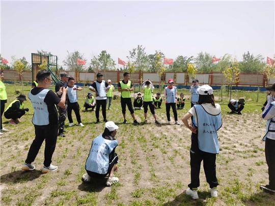 武威企业团队拓展训练