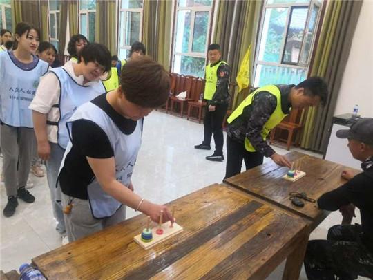 武威学生素质拓展训练